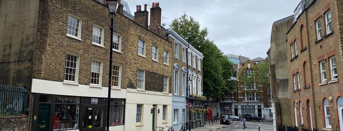 Clerkenwell is one of Paul'un Beğendiği Mekanlar.