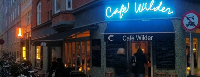 Cafe Wilder is one of Copenhagen 18.