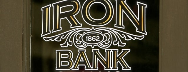 Iron Bank Coffee Co. is one of Zone C.