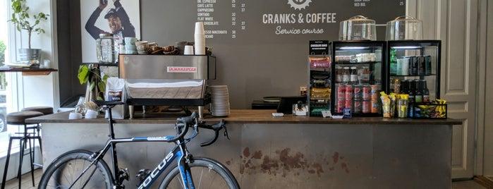 Cranks and Coffee is one of Tempat yang Disukai Jukka.