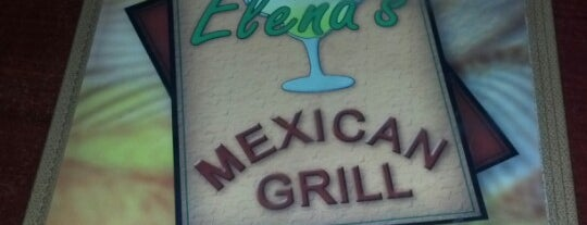 Elena's Mexican Grill is one of Favorite places.