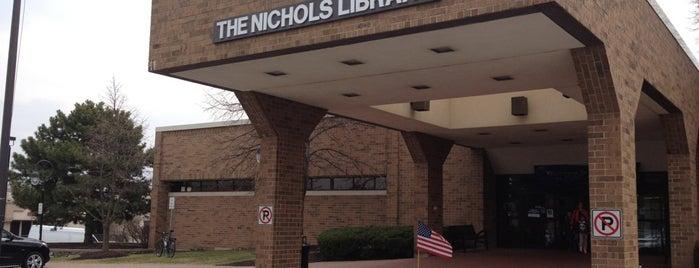 Nichols Library: NPL is one of สถานที่ที่ Michelle ถูกใจ.