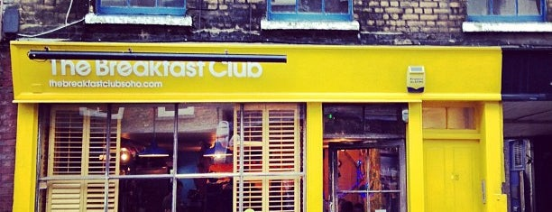 The Breakfast Club is one of London Working List.