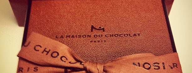 La Maison du Chocolat is one of Three Jane's Guide to Paris.