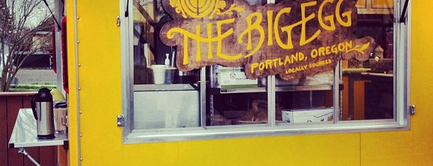 The Big Egg is one of PDXcellent.