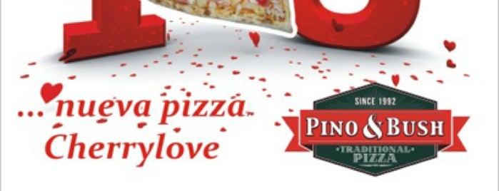 Pino & Bush Pizzas is one of Posti salvati di Karen 🌻🐌🧡.