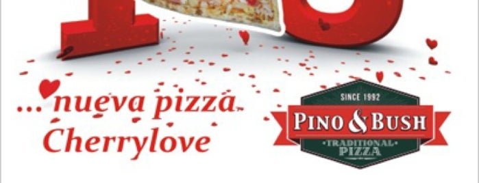Pino & Bush Pizzas is one of Karen 🌻🐌🧡さんの保存済みスポット.
