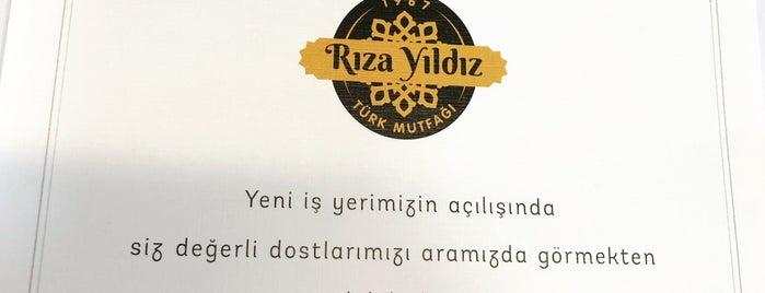 Rıza Yıldız Türk Mutfağı is one of Lugares favoritos de Murat karacim.