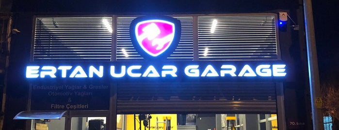 Ertan Uçar Garage is one of Locais salvos de Murat karacim.