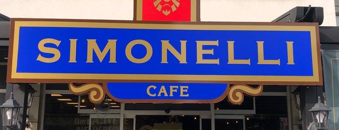 SIMONELLI CAFE is one of Orte, die Murat karacim gefallen.