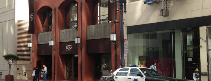UGG is one of San Francisco.