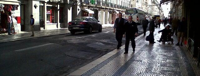 Rua Áurea (Rua do Ouro) is one of Lisboa sabores de siempre.