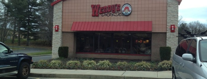 Wendy's is one of Locais curtidos por Christopher.