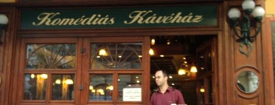 Komédiás Kávéház is one of Coffee.