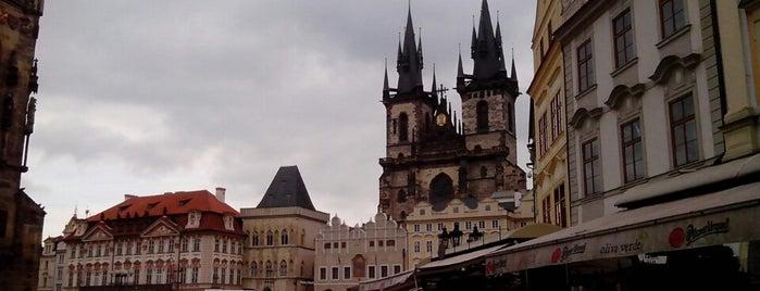 Staroměstské náměstí | Old Town Square is one of Pražské památky.