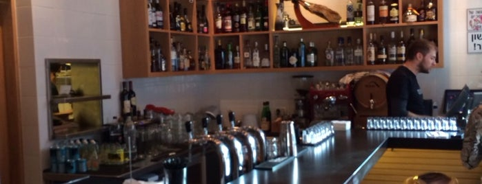 Cerveceria -Tapas Bar is one of Tel Aviv.