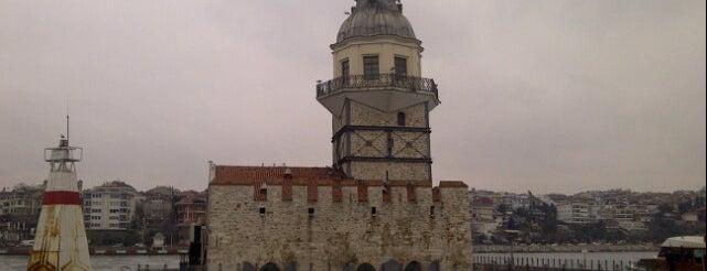 Kız Kulesi Kabataş İskelesi is one of ÜSKÜDAR_İSTANBUL.