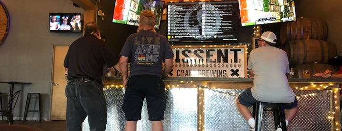 Dissent Craft Brewing Company is one of Mike 님이 저장한 장소.