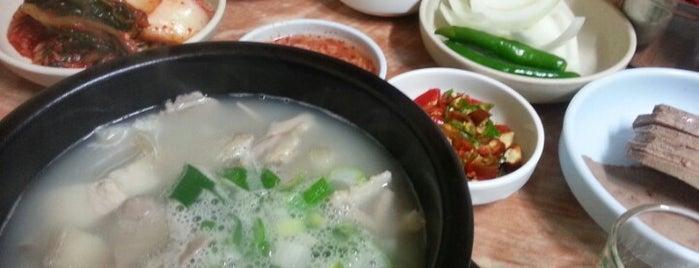 은성순대국 is one of Seoul.