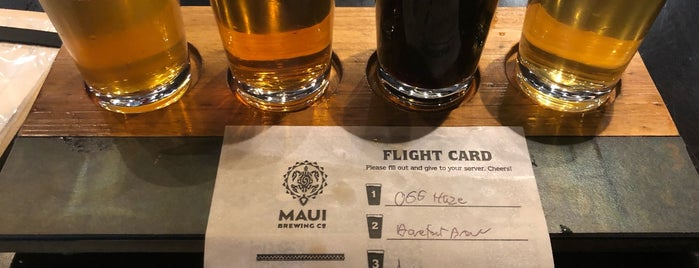 Maui Brewing Company is one of Hawaii.