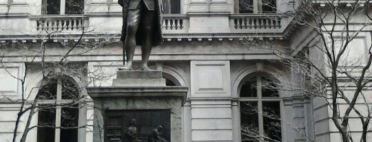 Benjamin Franklin Statue is one of Boston: Fun + Recreation.