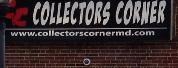 Collectors Corner is one of the great baltimore checkin.