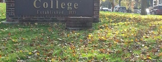 Kalamazoo College is one of Best of Kzoo.