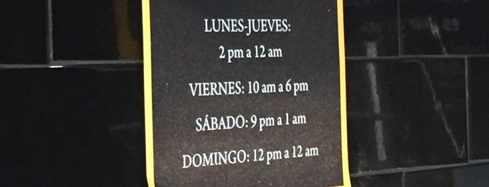 La Churreria is one of CDMX.