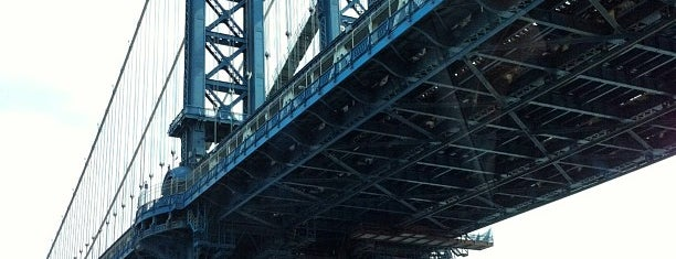 Under The Manhattan Bridge, Manhattan is one of Architecture - Great architectural experiences NYC.