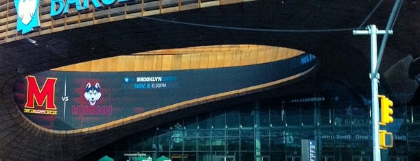Barclays Center is one of NBA Arenas.