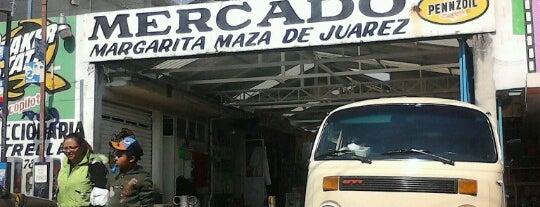 Mercado Margarita Maza De Juárez is one of Tempat yang Disukai auro.