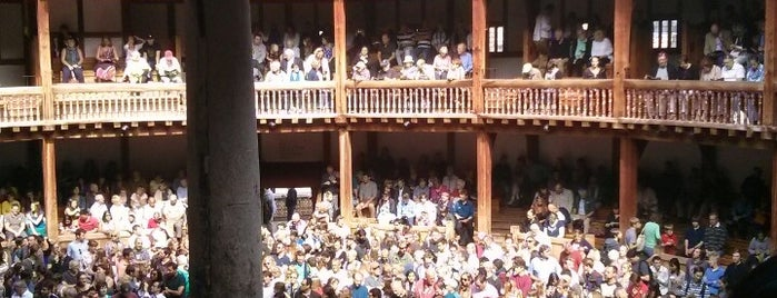 Shakespeare's Globe Theatre is one of England (insert something witty here).