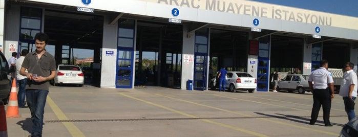 TÜVTÜRK Araç Muayene İstasyonu is one of Lieux qui ont plu à Kayhan.