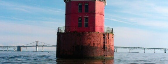 Sandy Point Shoal Lighthouse is one of Annapolis.