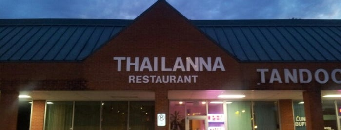 Thai Lanna is one of Durham Favorites.