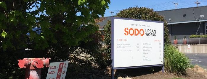 SoDo Urban Works is one of Posti che sono piaciuti a Josh.