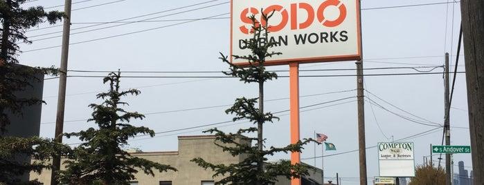 SoDo Urban Works is one of Locais curtidos por Josh.