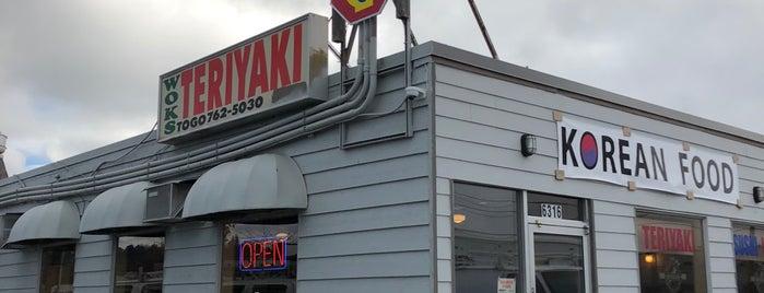 Wok's Teriyaki is one of Lugares favoritos de Josh.
