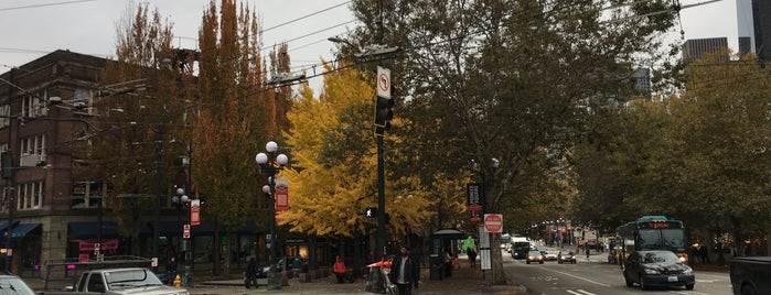 Pioneer Square is one of Seattle.