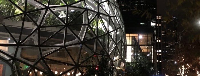 Amazon - The Spheres is one of สถานที่ที่ Josh ถูกใจ.