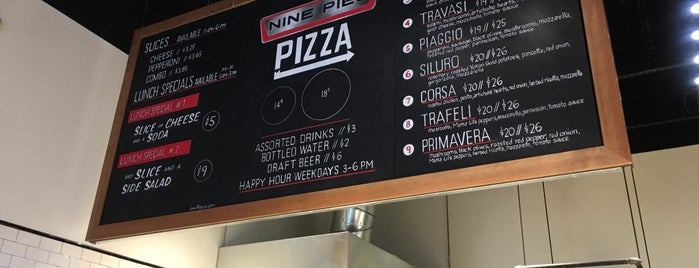 Nine Pies Pizza is one of Locais curtidos por Josh.