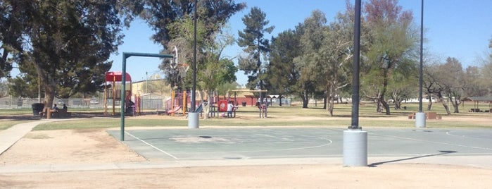 Mission Manor Park is one of City of Tucson Parks.