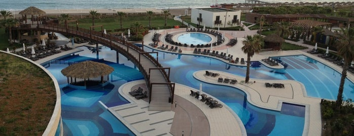 Sherwood Dreams Resort Belek is one of Orte, die Sultan gefallen.