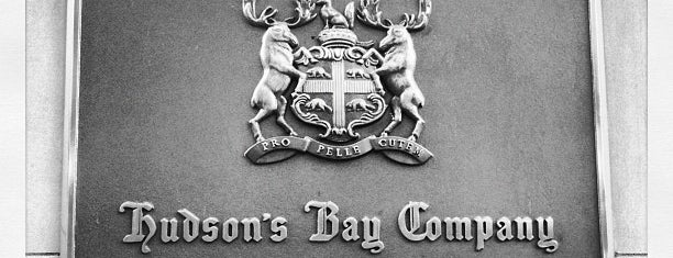 Hudson's Bay is one of CAN Toronto Favourites.