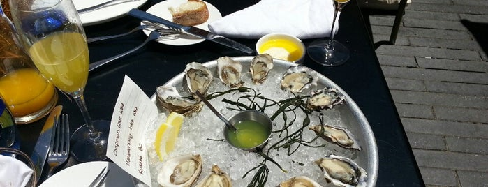 Waterbar is one of 25 Top Spots for Oysters in the U.S..