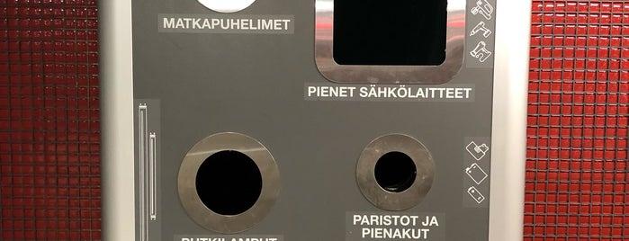 Kierrätys Helsingissä