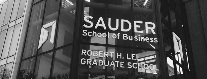 UBC Sauder School of Business is one of Vancouver 2015.