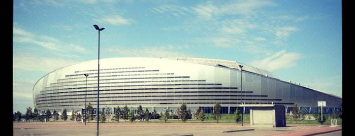 Astana Arena is one of outsiders....