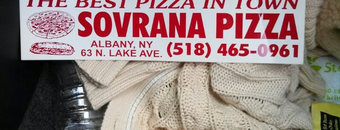 Sovrana Pizza And Deli is one of Try in Albany.
