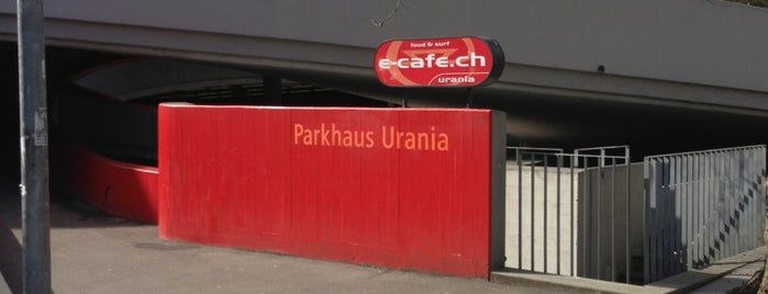 Parkhaus Urania is one of Zurich.